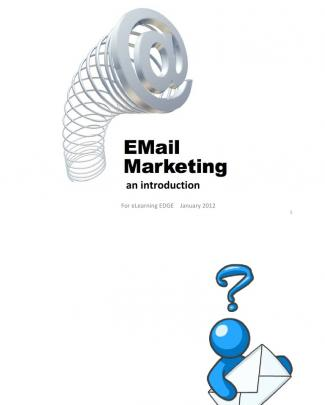 Email Marketing Lawrence Villegas Intro Deck 2011-01-19
