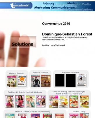 Transcontinental Media Inc: Smartphones / Convergence 2010