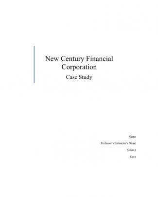 74535029_new Century Financial Corporation Case Study
