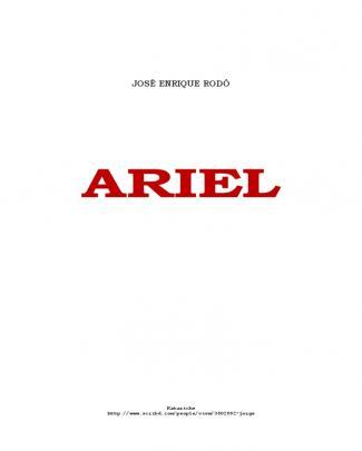 Jose Enrique Rodo - Ariel