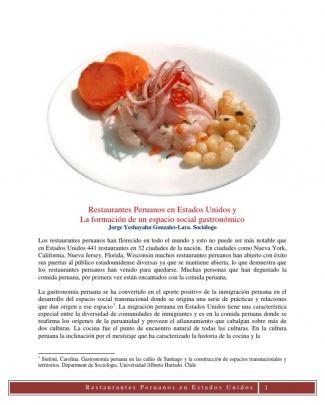 Restaurantes Peruanos En Estados Unidos