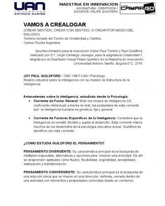 Resumen Torrance Creatividad 1 Jorge Camargo