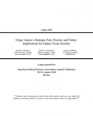 Diego Garcia Conference Paper