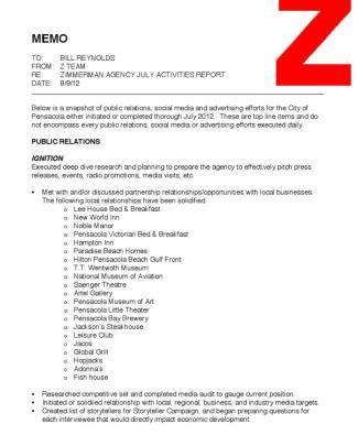 Cityofpensacola.activitiesreport