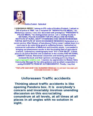 Unforseen Traffic Accidents