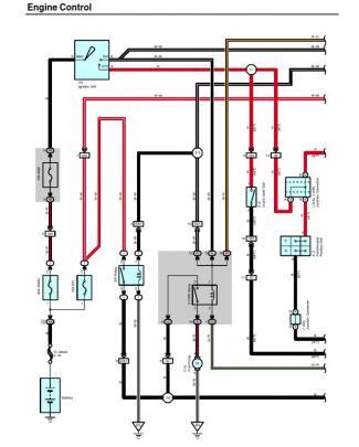2004 Corolla Electrical Diagram -engine Control