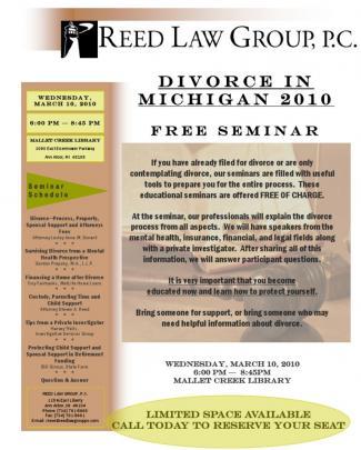 Divorce Seminar