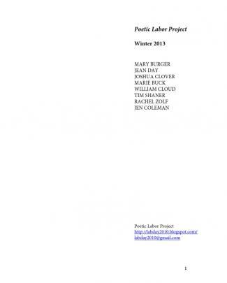 Poetic Labor Project - Winter 2013