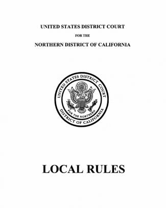 N.d. California Local Rules