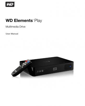 Wd Elements Play Manual