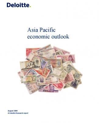 Asia Pacific Economic Outlook (aug 09 Deloitte)