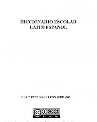 Diccionario Escolar