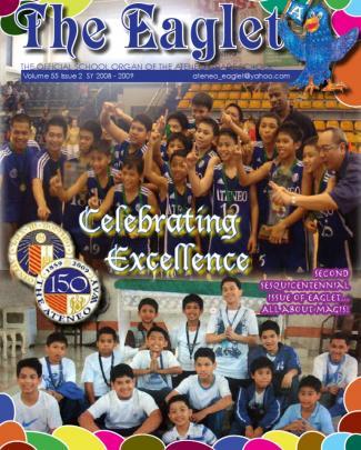 Eaglet 55#2 Official Publication Of Ateneo Grade School