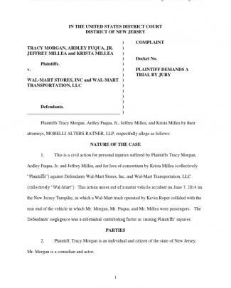 233971158 Tracy Morgan Lawsuit