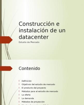 Estudio De Mercado 1.0