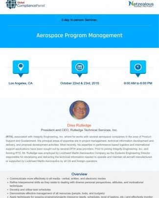 Aerospace Program Management Los Angeles Ca