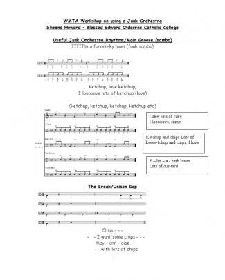 Junk Orchestra Rhythms