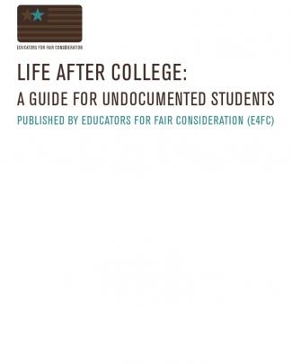Illegal Alien Post-college Guide