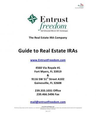 Real Estate Ira Guide