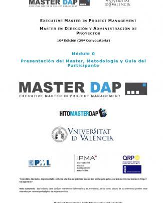 Máster En Dirección Y Administración De Proyectos Con La  Universidad Valencia