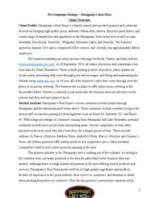 Adwords Campaign Final Paper