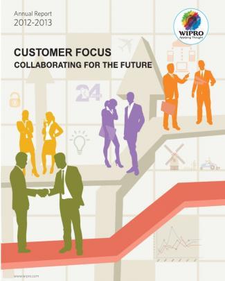 Wipro Annual Report 2012 13