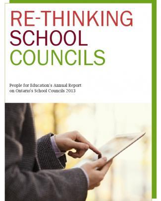 2013 School Council Report