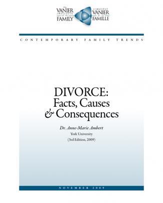 Divorce Factors Consequences