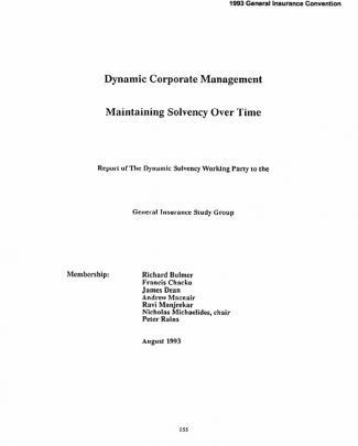 Dynamic Corporate