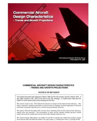 Commercial Aircraft Design Characteristics