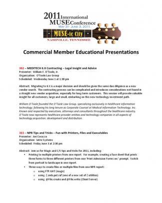 Commercial Member Education - Master