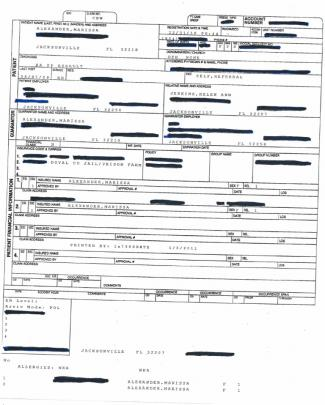 Marissa Hospital Records December 2010 Incident