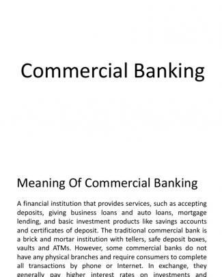 Commercial Bank Yash