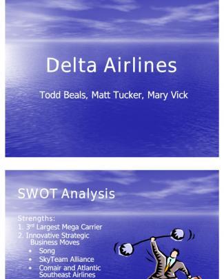 Delta Airlines Presentation