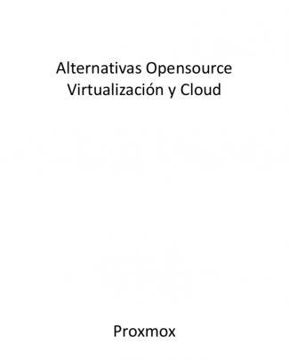 Alternativas Open Source Virtualizacion