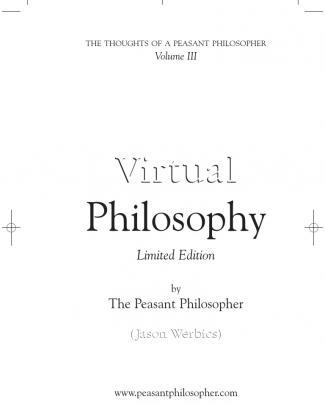 16339416 Virtual Philosophy