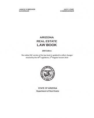 Law - Arizona Real Estate Lawbook