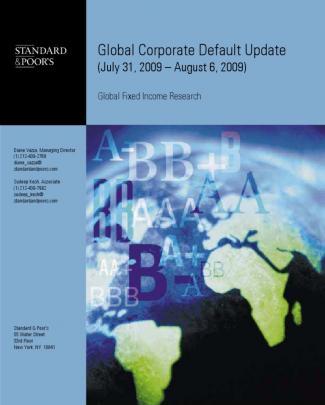 Global Corporate Default Update
