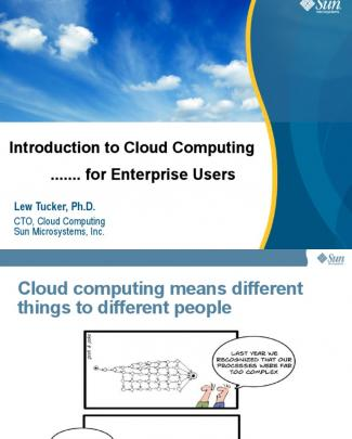 Intro To Cloud - Enterprise