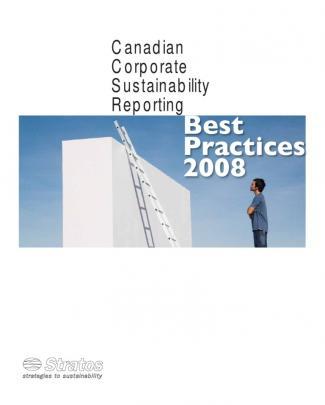 Las Mejores Prácticas De Sustentabilidad Empresaria De 2008 En Canadá