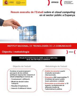 (versió En Català) Resum Executiu De L'estudi Sobre El Cloud Computingen El Sector Públic A Espanya