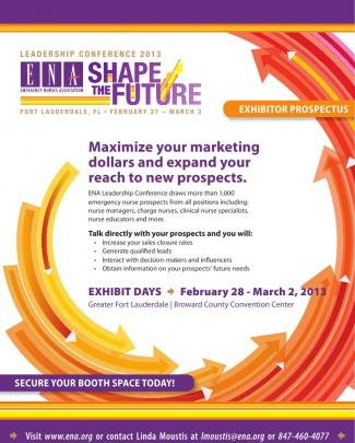 Ena Leadership Conference 2013 Exhibitor Prospectus