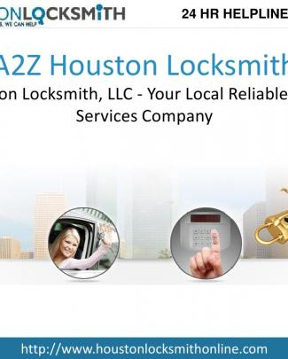 A2z Houston Locksmith, Llc - Your Local Reliable Locksmith Services Company